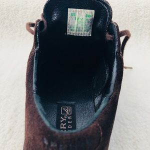 Sperry Shoes - Sperry Topsiders Boys Brown Suede Oxfords